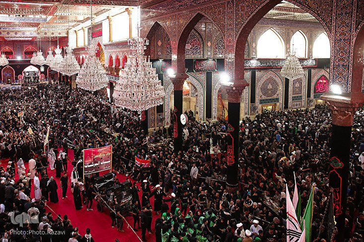 Arbaeen Processions in Karbala